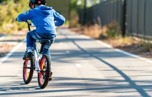 What should we teach children about bicycle safety?