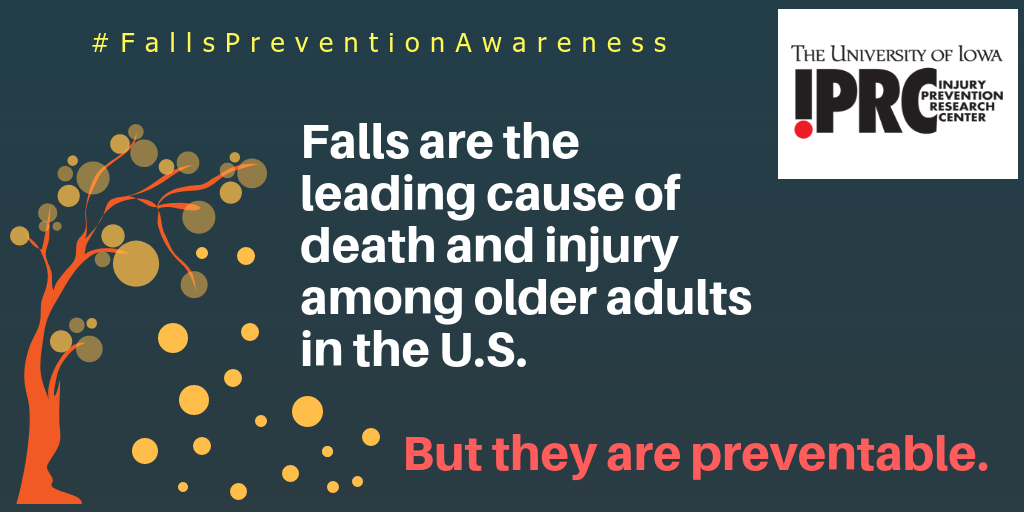 Falls are the leading cause of death and injury among older adults in the U.S.