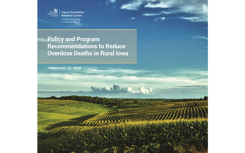Policy and Program Recommendations to Reduce Overdose Deaths in Rural Iowa