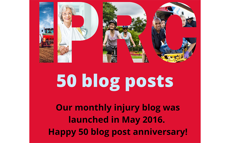 50 injury blog posts: University of Iowa Injury Prevention Research Center
