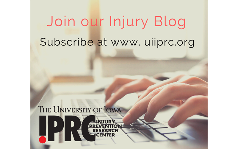 Join our injury blog: University of Iowa Injury Prevention Research Center