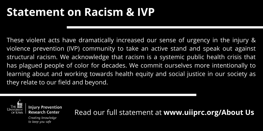 UI IPRC Statement on Racism & IVP